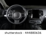 modern car interior | Shutterstock . vector #444880636