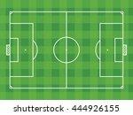 football  soccer  pitch  design ... | Shutterstock .eps vector #444926155