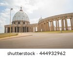 yamoussoukro  c te d'ivoire ...   Shutterstock . vector #444932962