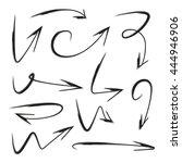 doodle arrows | Shutterstock .eps vector #444946906