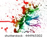 abstract multicolor  ...   Shutterstock . vector #444965302