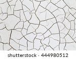 crack soil on dry season ... | Shutterstock . vector #444980512