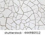 crack soil on dry season ... | Shutterstock . vector #444980512