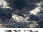 cloud and sunlight on background | Shutterstock . vector #444989962