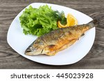 Grilled Trout With Lemon  Dill...