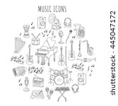 Music Icon Set Vector...
