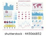 infographic elements  web... | Shutterstock .eps vector #445066852