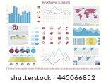 infographic elements  web... | Shutterstock .eps vector #445066852
