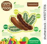 Tamarind. Infographic Template...