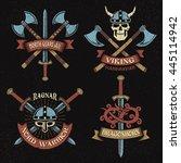 Scandinavian Vikings Logo Set....