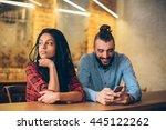 relationship problems | Shutterstock . vector #445122262