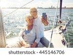 sailing  technology  tourism ... | Shutterstock . vector #445146706