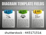 information infographic... | Shutterstock .eps vector #445171516