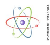 atom icon | Shutterstock .eps vector #445177066