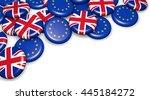 brexit british referendum... | Shutterstock . vector #445184272