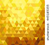 vector abstract background gold ... | Shutterstock .eps vector #445185355
