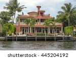 waterfront real estate in fort... | Shutterstock . vector #445204192