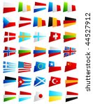 the most popular world flags | Shutterstock .eps vector #44527912