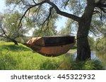tent hammock | Shutterstock . vector #445322932