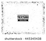 grunge texture   abstract... | Shutterstock .eps vector #445345438