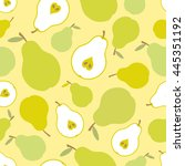 seamless vector pattern with... | Shutterstock .eps vector #445351192