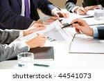 close up of businessman... | Shutterstock . vector #44541073