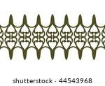 decorative wallpaper design in... | Shutterstock .eps vector #44543968