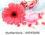flower and candle | Shutterstock . vector #44545696