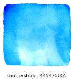 Light Blue Watercolor Hand...