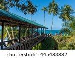 Bridge At Wild Caribbean Beach...
