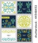 flower background | Shutterstock .eps vector #44548453
