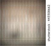wood bamboo mat texture... | Shutterstock .eps vector #445508662