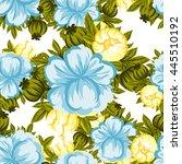abstract elegance seamless... | Shutterstock .eps vector #445510192