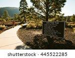 Lava flow trail, Flagstaff, AZ
