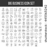 business icons. start up and... | Shutterstock .eps vector #445565242