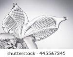 Glass sculpture butterfly
