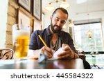people  inspiration  freelance... | Shutterstock . vector #445584322