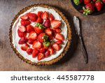 Cheesecake With Strawberries ...