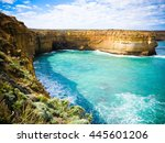 scenic attraction | Shutterstock . vector #445601206