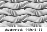 3d shaded texture. abstract... | Shutterstock . vector #445648456