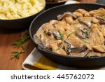 Chicken Stroganoff A Variation...