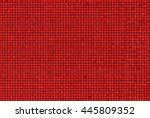Bright Abstract Mosaic Red...