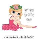 Cute Girl Vector Design. Don T...