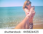 take me to the sea.   Shutterstock . vector #445826425