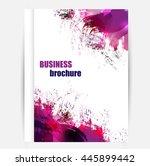 vector elements for infographic.... | Shutterstock .eps vector #445899442