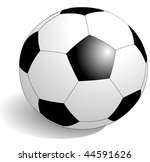 football  soccer in vector art | Shutterstock .eps vector #44591626