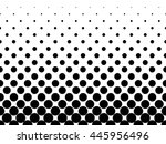 halftone background of black... | Shutterstock .eps vector #445956496