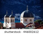 christian church in kotor ... | Shutterstock . vector #446002612