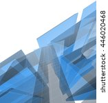 abstract architectural... | Shutterstock . vector #446020468