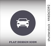 car vector icon. flat design...